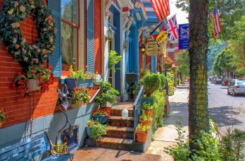Main Street in Jim Thorpe