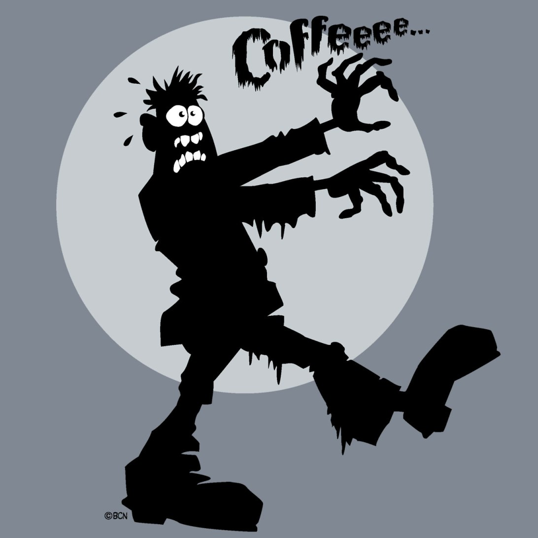 Zombie Needs Coffee