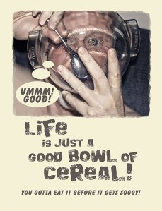 Good Cereal Postcard