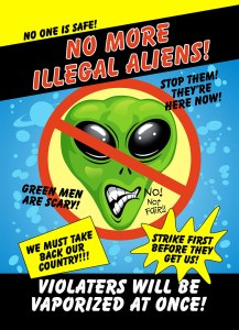 No Illegal Aliens Card