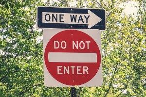 One Way Blog