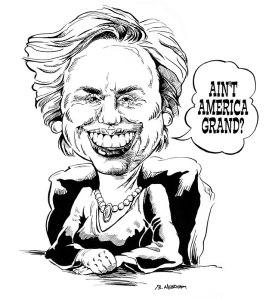Hillary Clinton's America