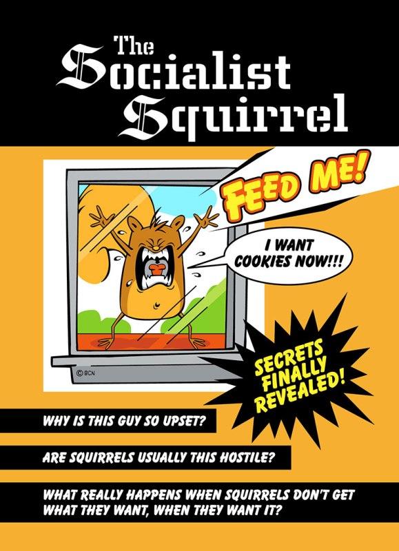 Socialist-Squirrel-Card