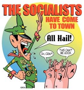 Socialists-Coming-T-Shirt
