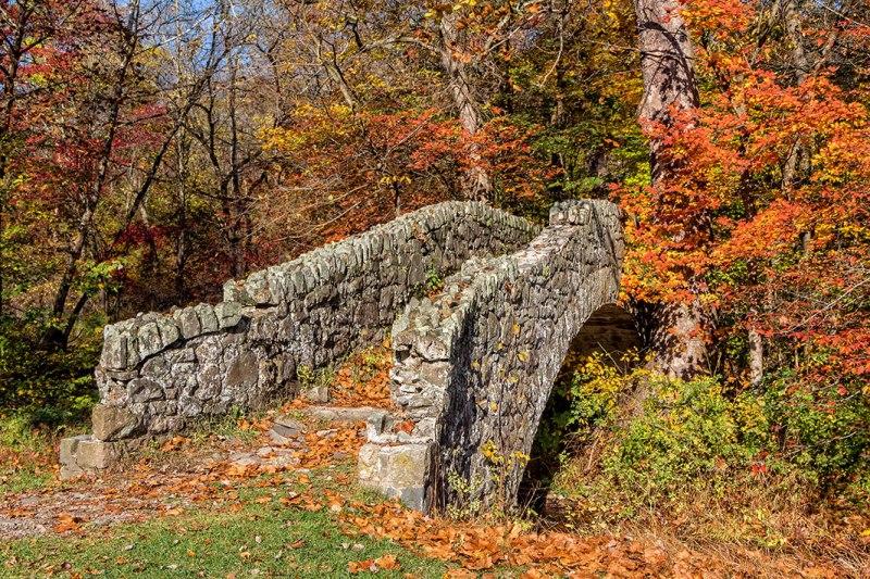 Buttermilk-Falls-Bridge