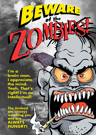 Beware-of-Zombies-Card