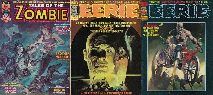 Zombie-Magazines