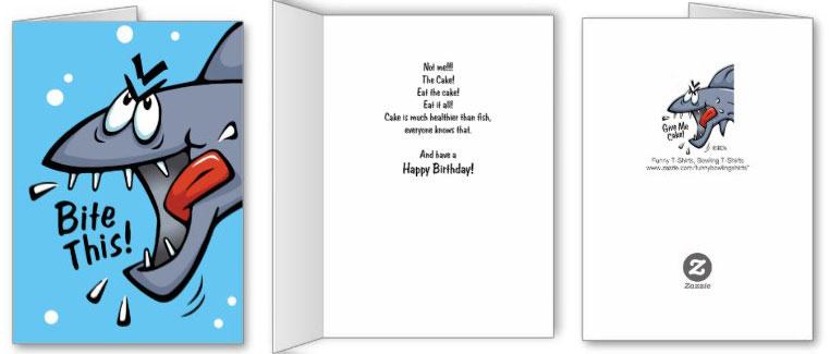 Shark-Birthday-Card