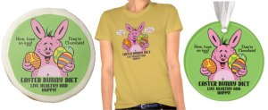 easter_bunny_diet_t-shirt