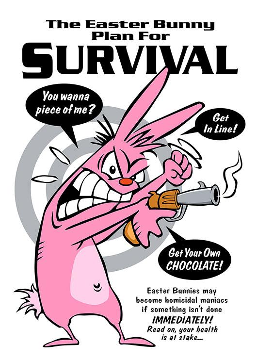 Rabbit-Hunting-Plan-Card