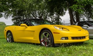 Yellow-Corvette