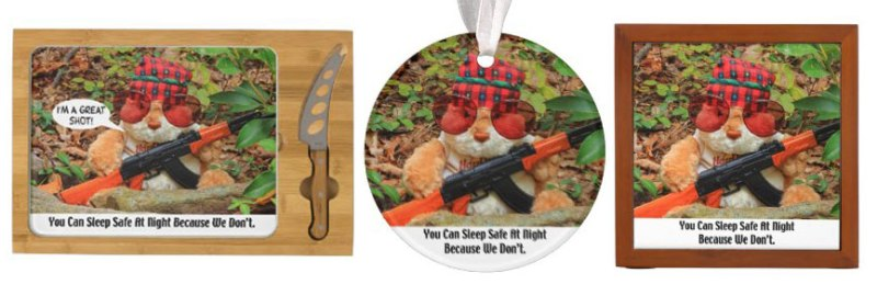 2nd_amendment_rabbit_ornaments 1