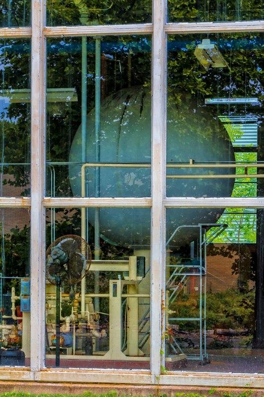 Futuristic Window Reflection 2