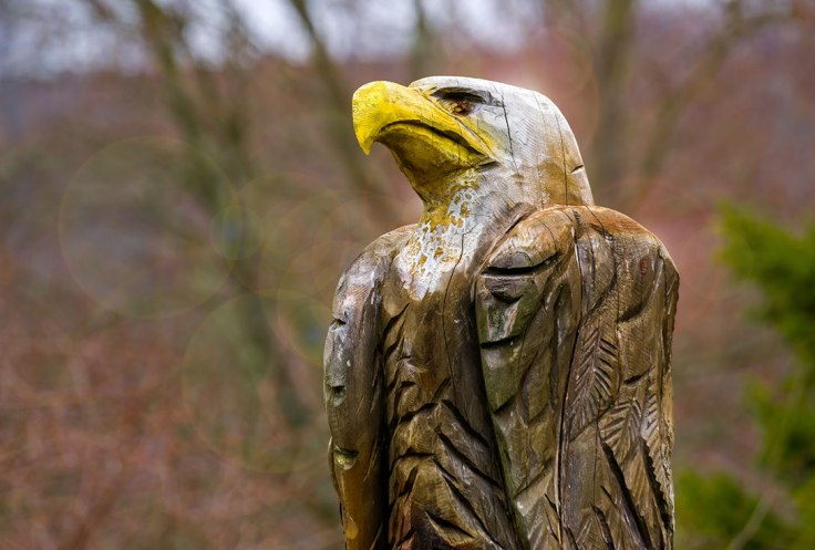 Eagle-Carving
