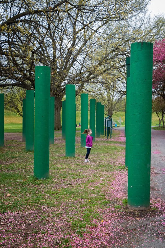 Spring-Pillars